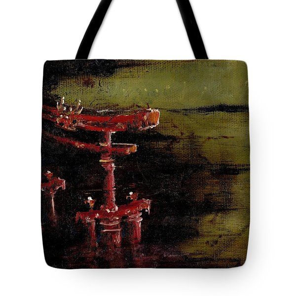 Torii Tote Bag by Julio Lopez