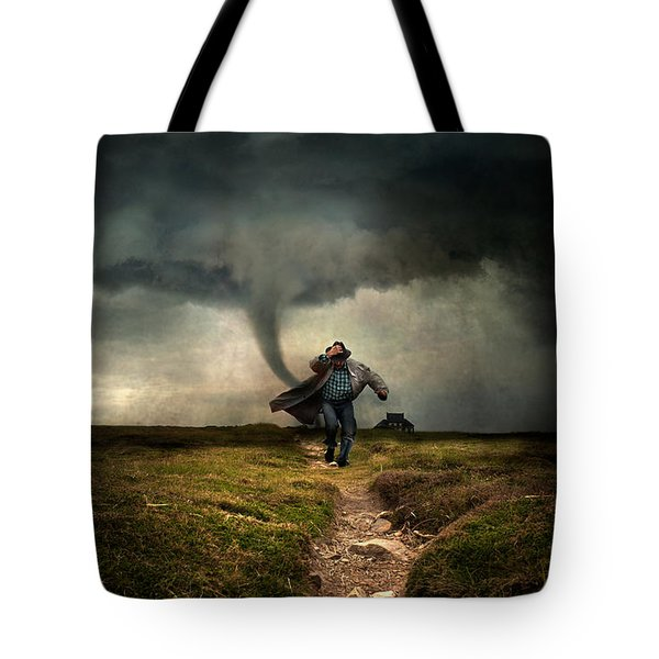 Tornado Tote Bag by Jaroslaw Blaminsky