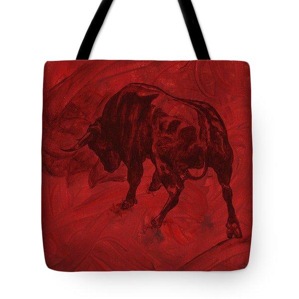 Toro Painting Tote Bag