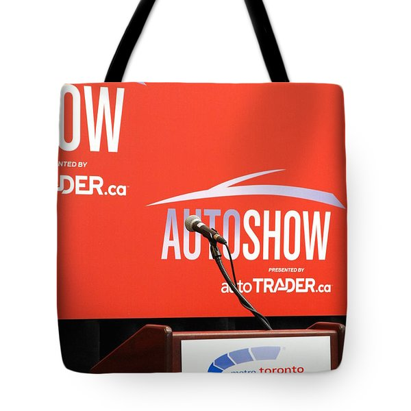 Toronto Autoshow Tote Bag by Valentino Visentini