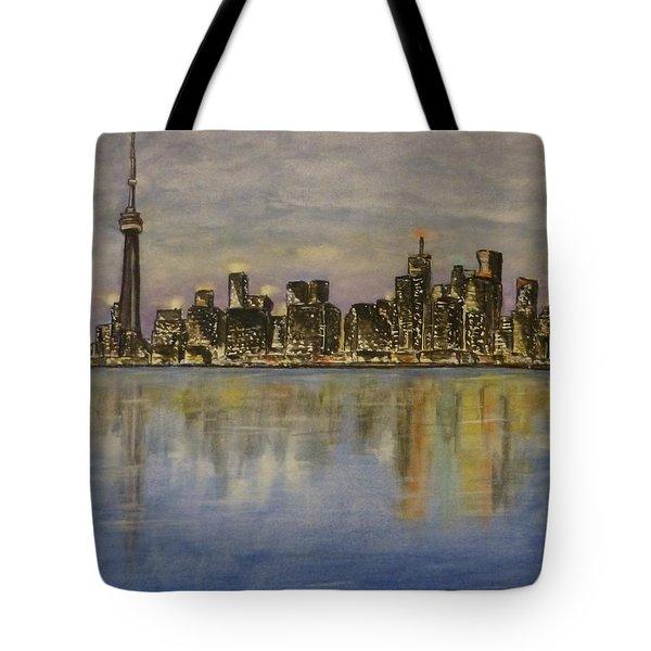 Toronto City Canada Tote Bag