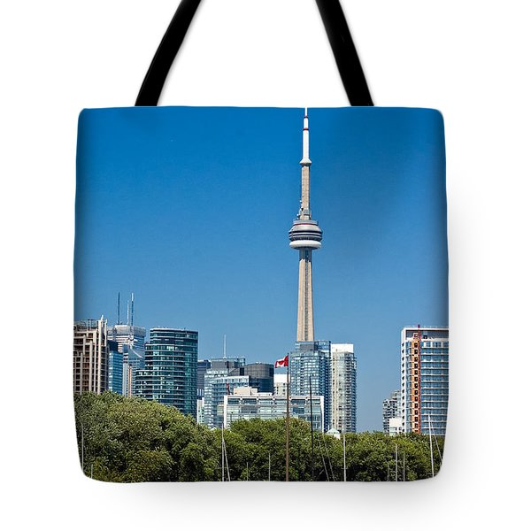 Toronto Harbour Tote Bag by Steve Harrington