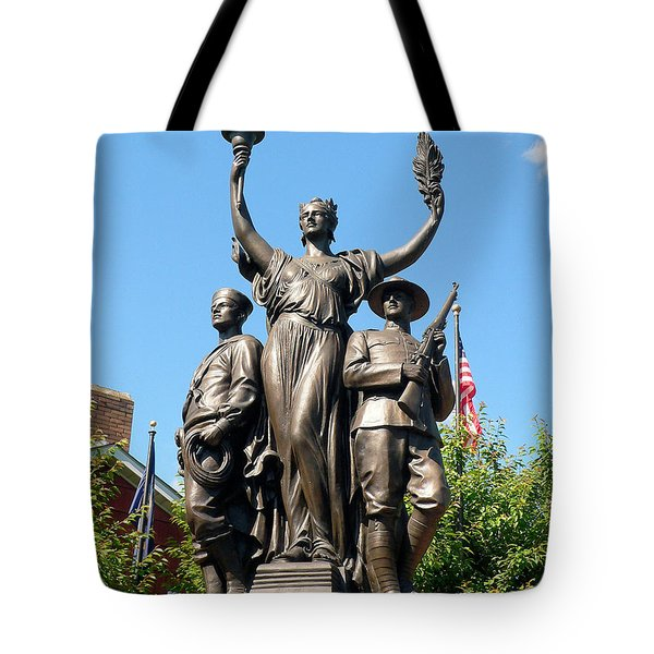 Toronto Monument Tote Bag