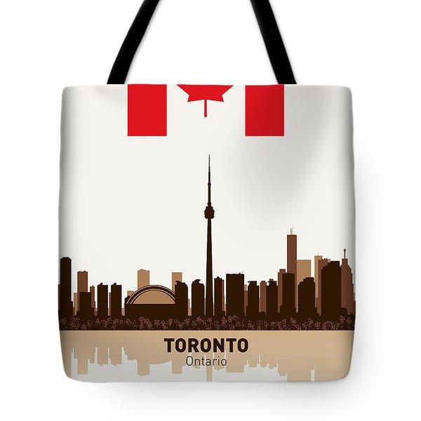 Toronto Ontario Canada Tote Bag by Daniel Hagerman