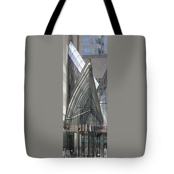 Toronto Silhouettes Iv Tote Bag by Ben and Raisa Gertsberg