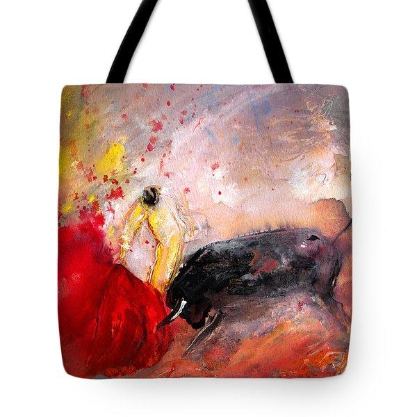 Toroscape 48 Tote Bag by Miki De Goodaboom