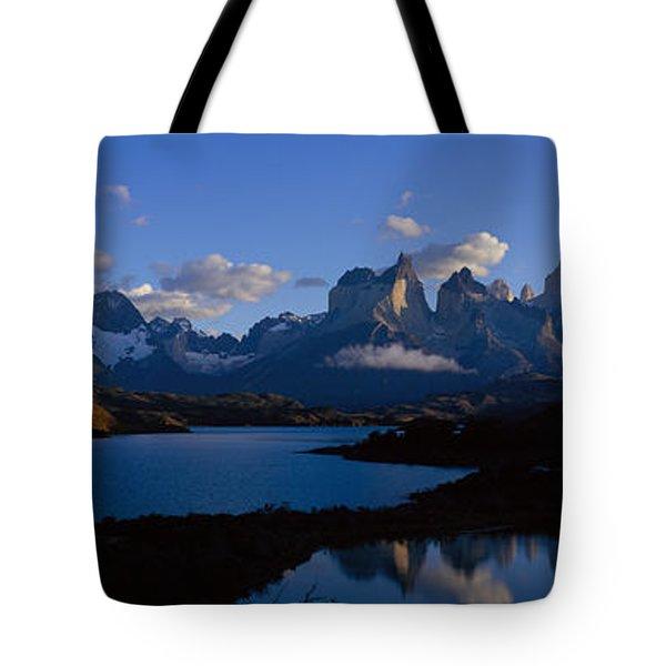 Torres Del Paine, Patagonia, Chile Tote Bag
