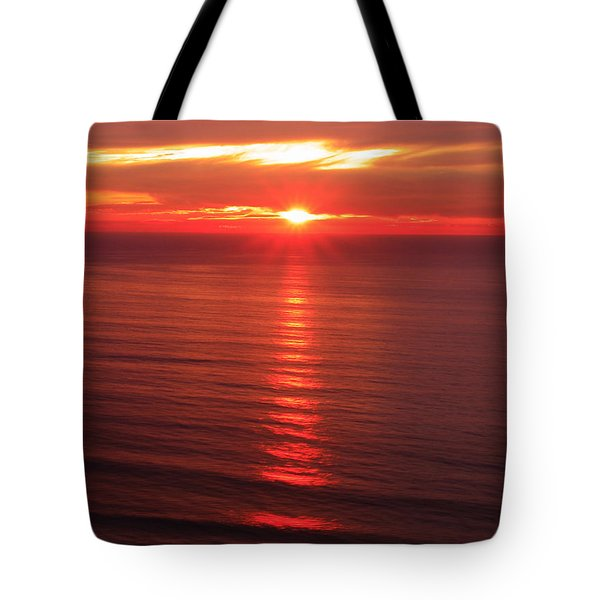 Torrey Pines Starburst Tote Bag