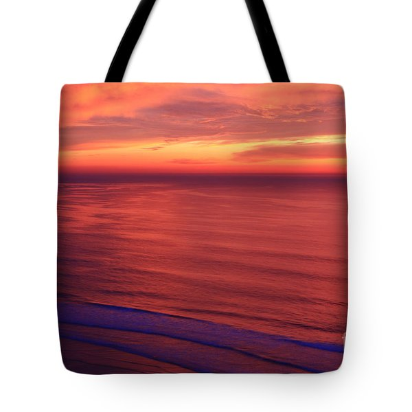 Tote Bag featuring the photograph Torrey Pines Twilight by John F Tsumas