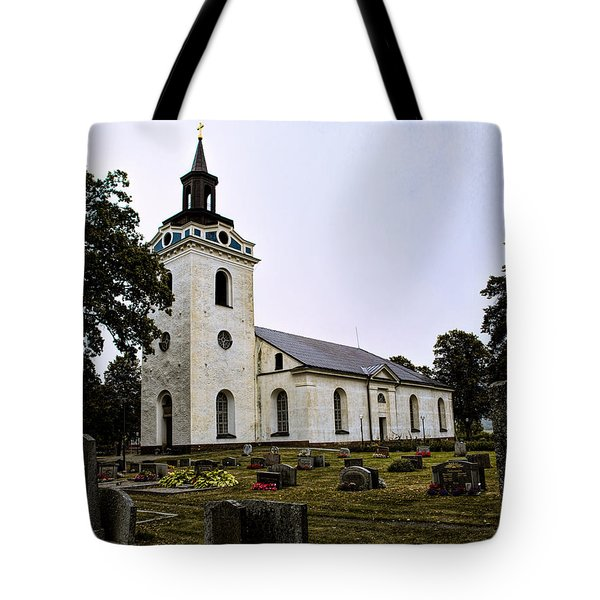 Torstuna Kyrka Church Tote Bag