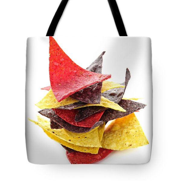 Tortilla Chips Tote Bag by Elena Elisseeva