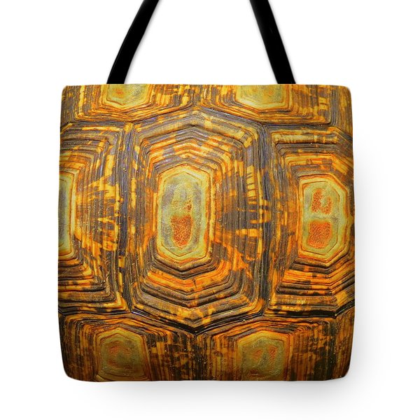 Tortoise Abstract Tote Bag