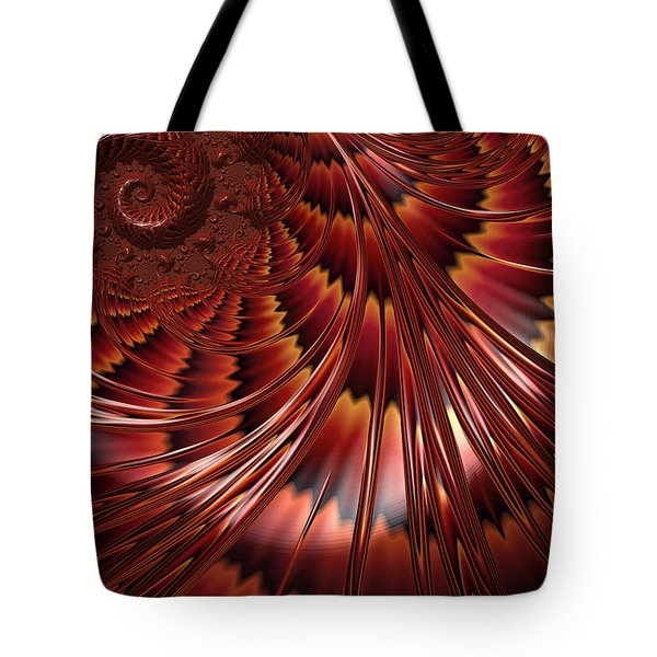 Tortoiseshell Abstract Tote Bag