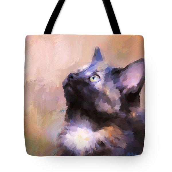 Tortoiseshell Kitten #3 Tote Bag