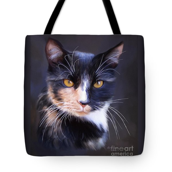 Tortoiseshell Tote Bag by Lena Auxier
