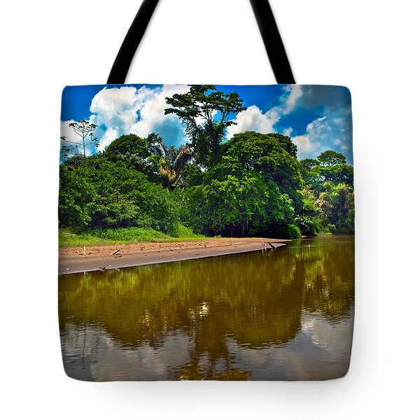 Tortuguero River Canals Tote Bag by Gary Keesler
