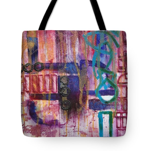 Tortured Links Tote Bag