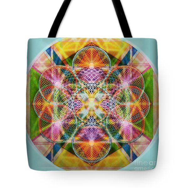 Torusphere Synthesis Bright Beginning Soulin I Tote Bag