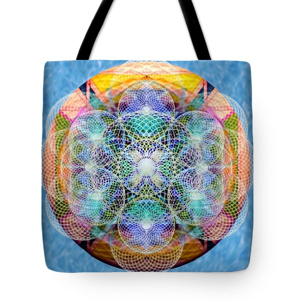 Torusphere Synthesis Cell Firing Soulin IIi Tote Bag
