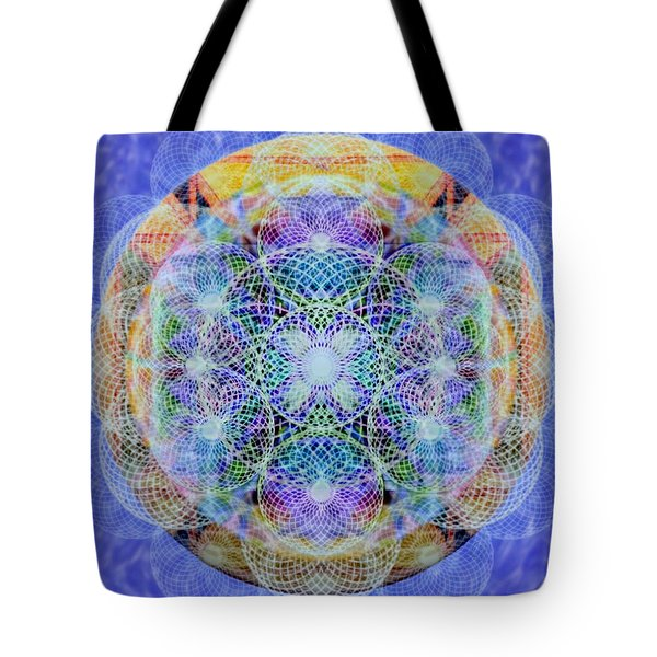 Torusphere Synthesis Interdimensioning Soulin Iv Tote Bag