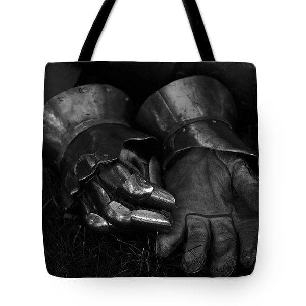 Tossing The Gauntlet Tote Bag