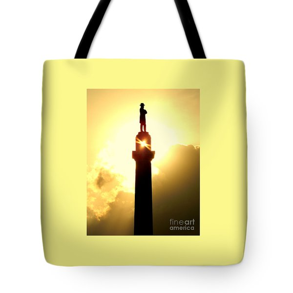 General Robert E. Lee And The Summer Solstice In New Orleans Tote Bag