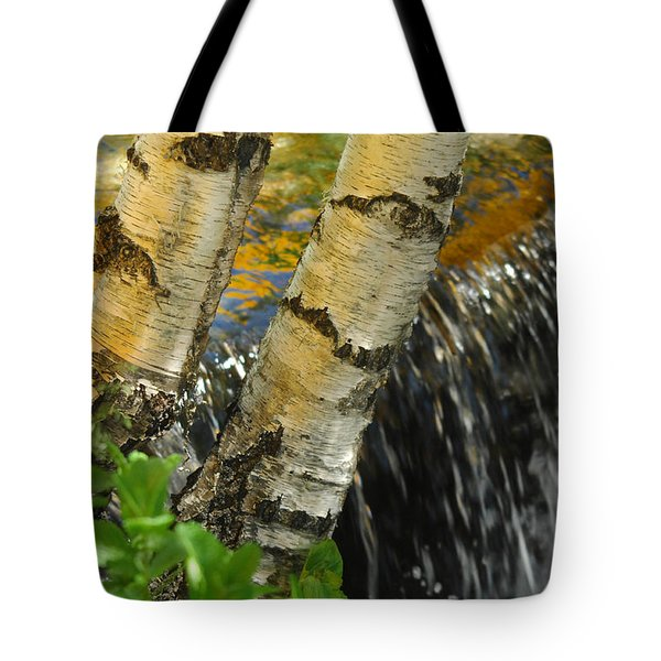 Totally Birching Tote Bag