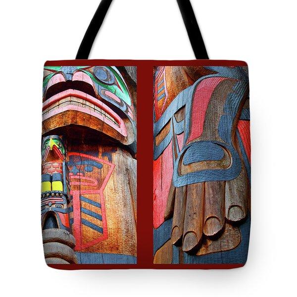 Totem 2 Tote Bag by Theresa Tahara