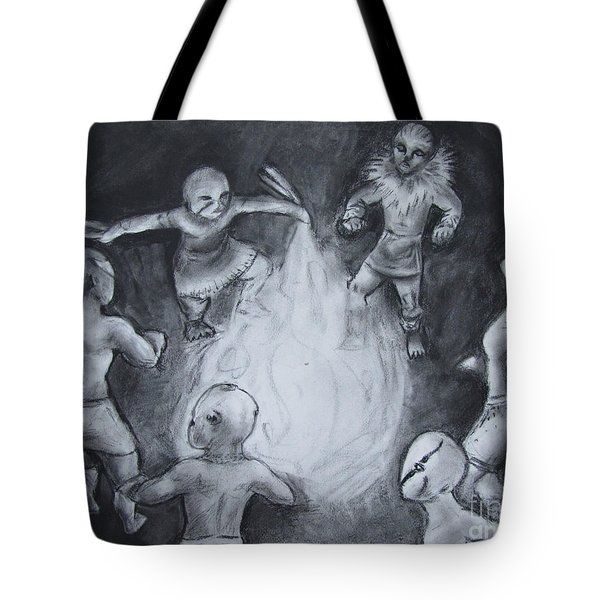 Totem Dancers - Channeling The Spirits Tote Bag