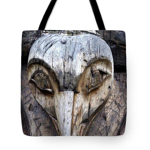 Totem Face Tote Bag