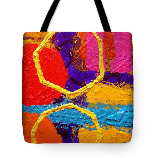 Totem Iv Tote Bag by John  Nolan