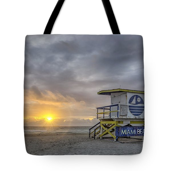 Touch A New Day Tote Bag