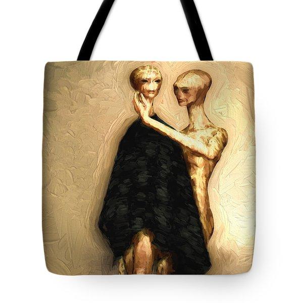 Touch Tote Bag by Bob Orsillo