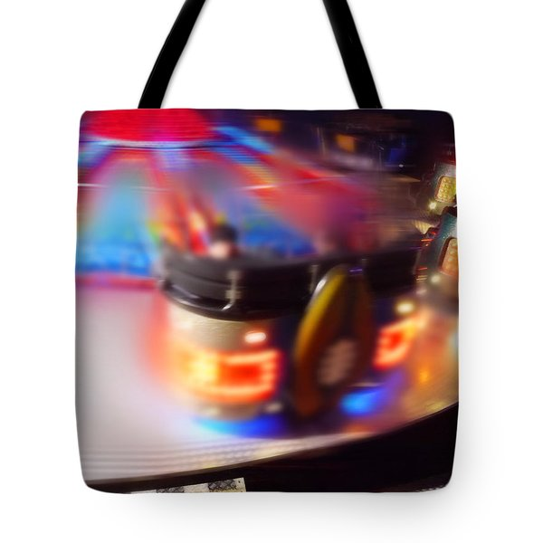 Touch Down Tote Bag by Charles Stuart