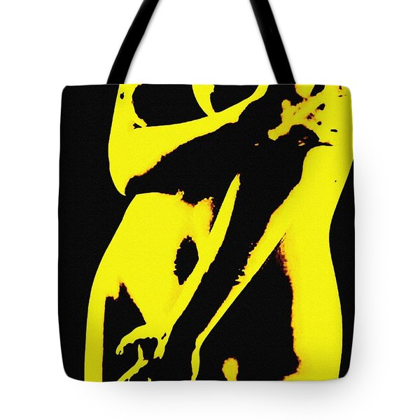 Touch Me Not Tote Bag by Piety Dsilva