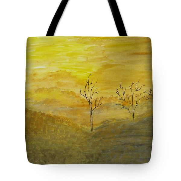 Touch Of Gold Tote Bag by Sonali Gangane