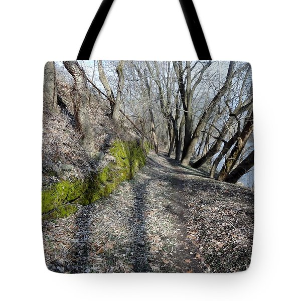 Touch Of Green Tote Bag by Michael Porchik