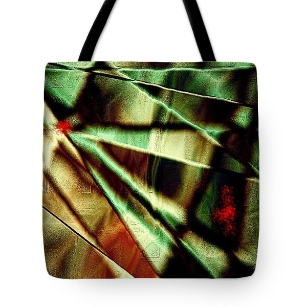 Touch Of Red Tote Bag by Paula Ayers