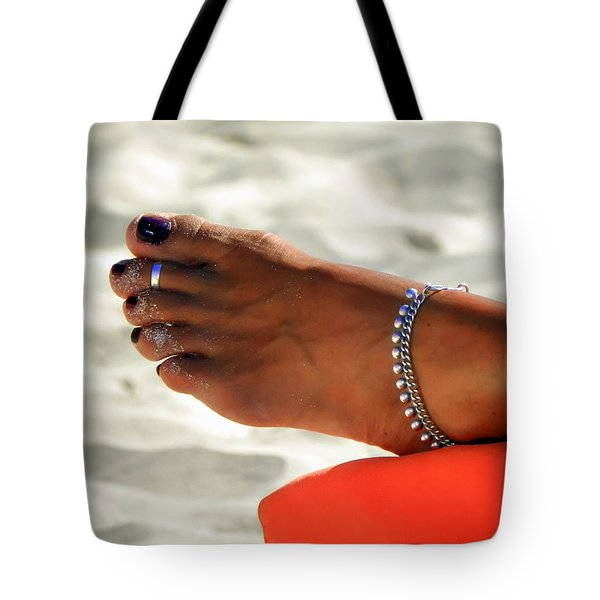 Touch Of Sun Tote Bag by Karen Wiles