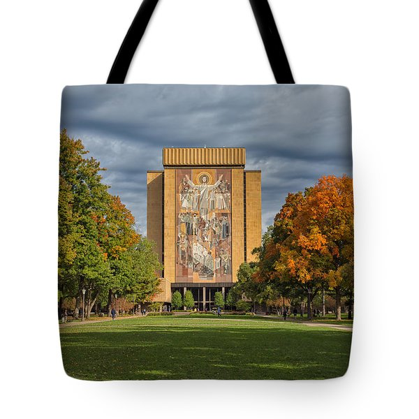 Touchdown Jesus Tote Bag