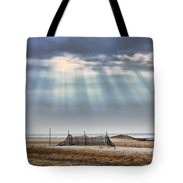 Touched By Heaven Tote Bag by Sennie Pierson