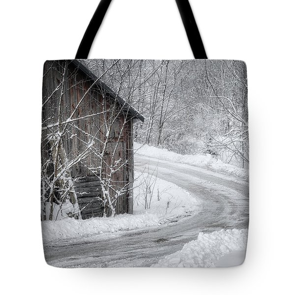 Touched By Snow Tote Bag