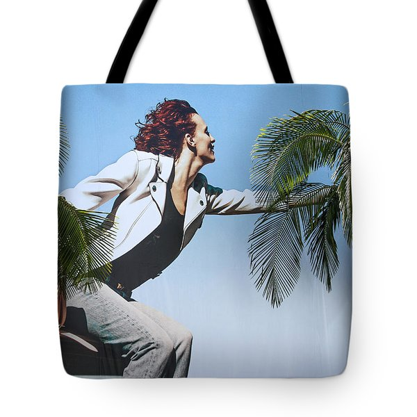 Touching The Canopy.  Tote Bag