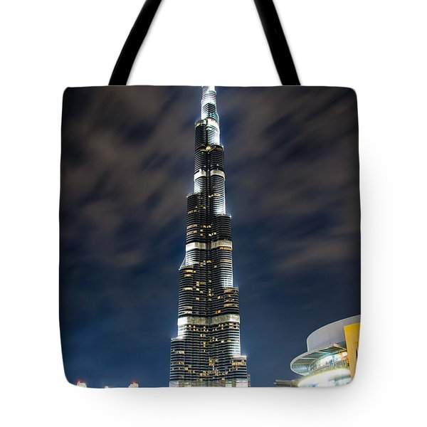 Touching The Sky Tote Bag by Syed Aqueel