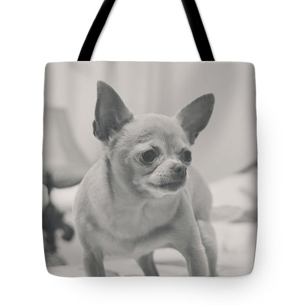 Tough Girl Tote Bag by Laurie Search