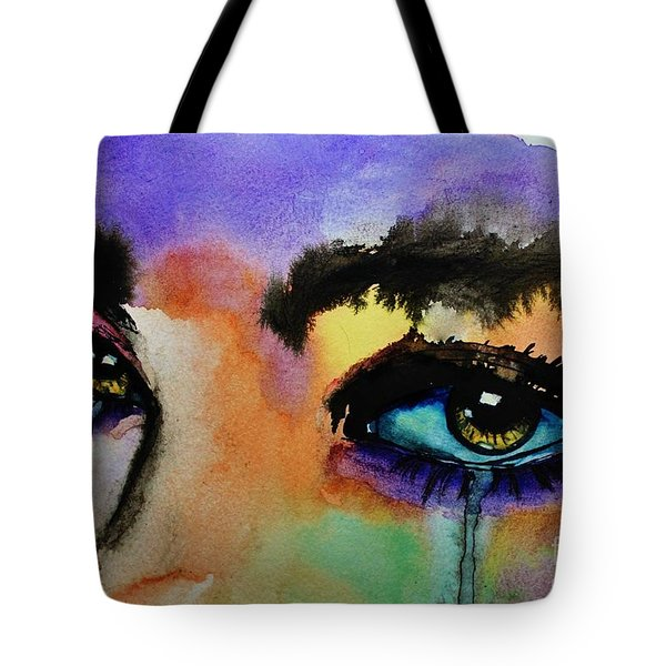 Tougher Than You Think Tote Bag by Michael Cross