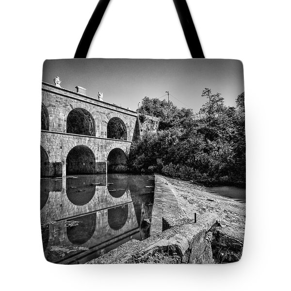 Tounj Bridge Tote Bag by Davorin Mance