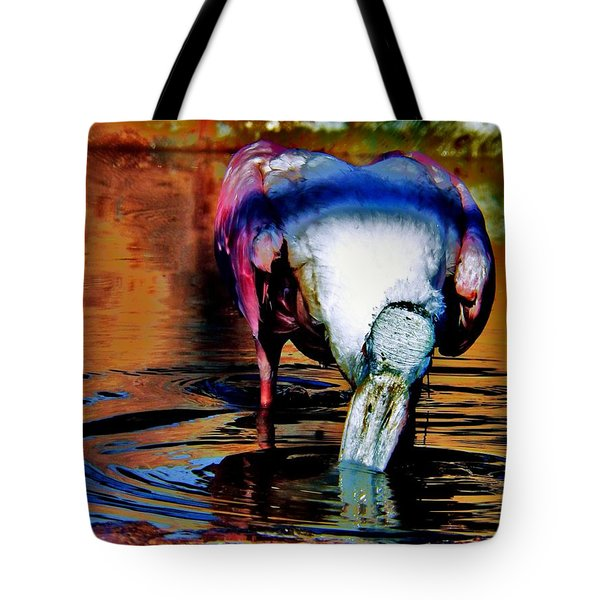 Tote Bag featuring the photograph Toupee by Faith Williams