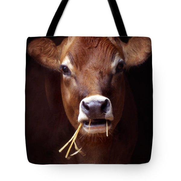Toupee Tote Bag by Skip Willits