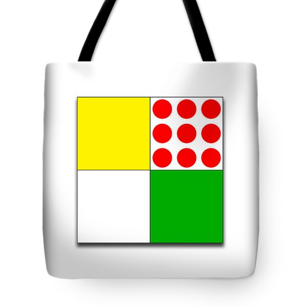 Tour De France Jerseys 1 White Tote Bag
